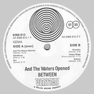 Image result for between and the waters opened